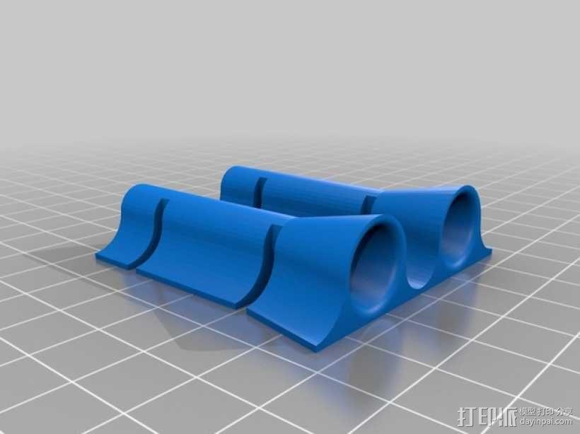 Rep 2x导线器 3D模型  图3