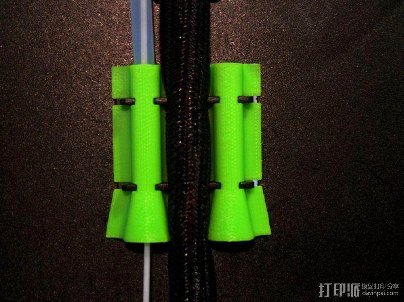 Rep 2x导线器 3D模型  图2