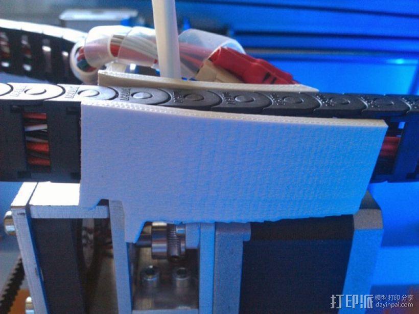 电缆锁链 3D模型  图1
