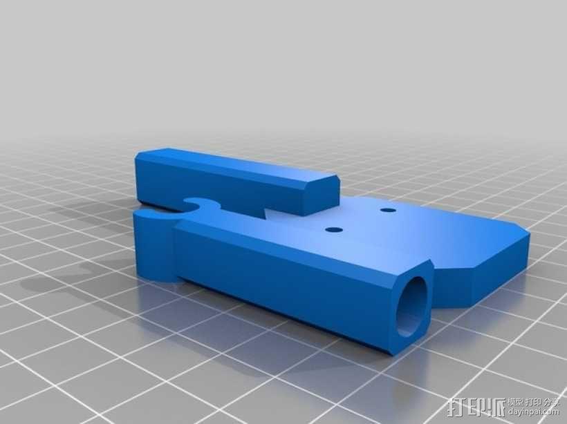 Prusa i3线轴架 3D模型  图2