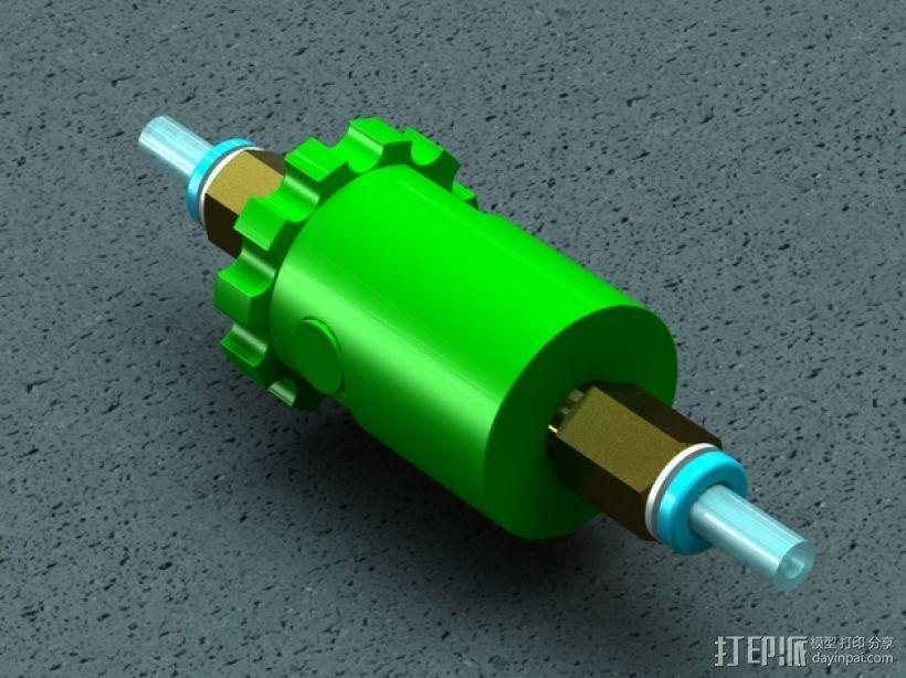 注油器 3D模型  图1