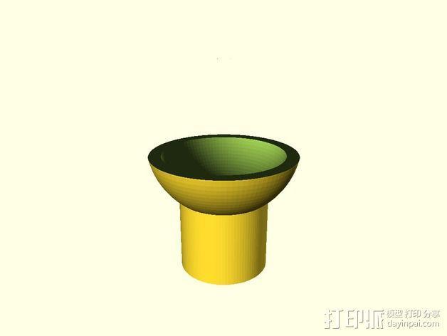 球形固定器 3D模型  图1