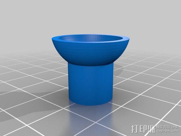 球形固定器 3D模型  图3