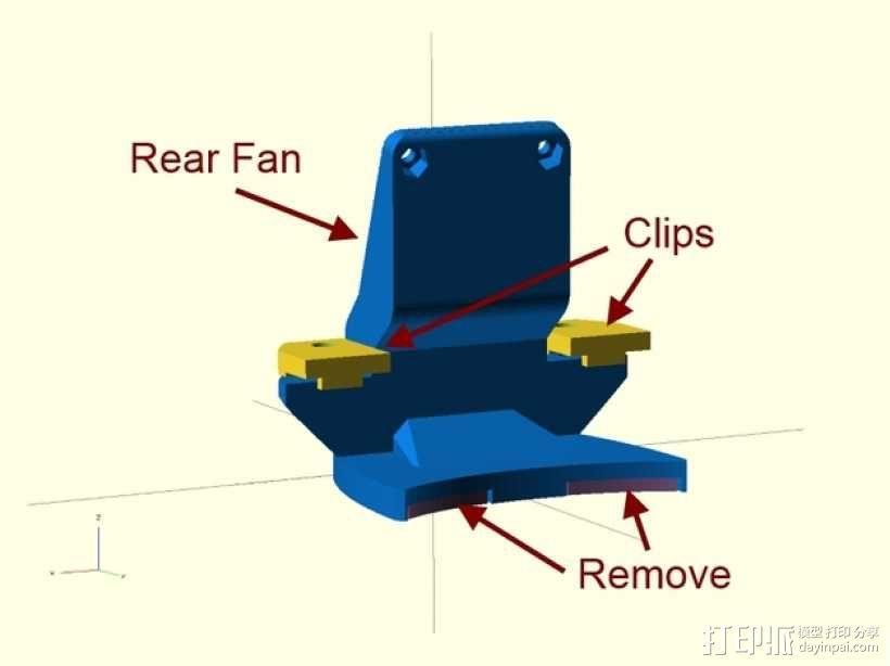 冷风机 3D模型  图16