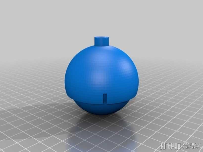 滚轴  3D模型  图1