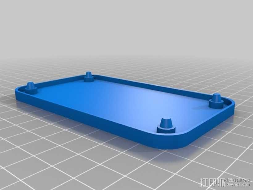 迷你托盘 3D模型  图1