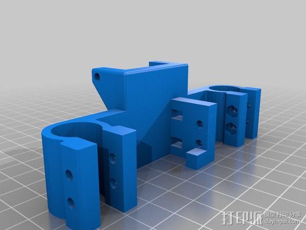 迷你适配器 3D模型  图2