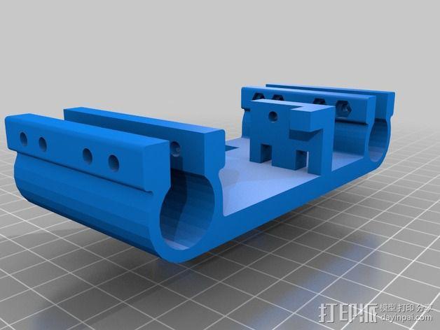 迷你适配器 3D模型  图3