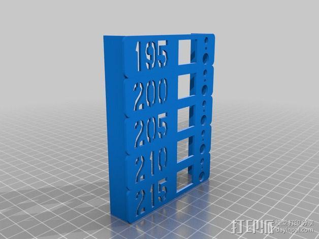 挤出机温度测试 3D模型  图1