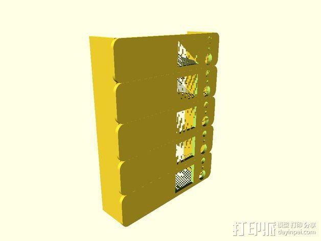 挤出机温度测试 3D模型  图2