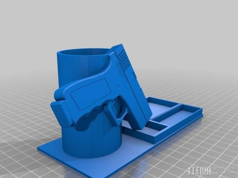 笔筒 3D模型  图1