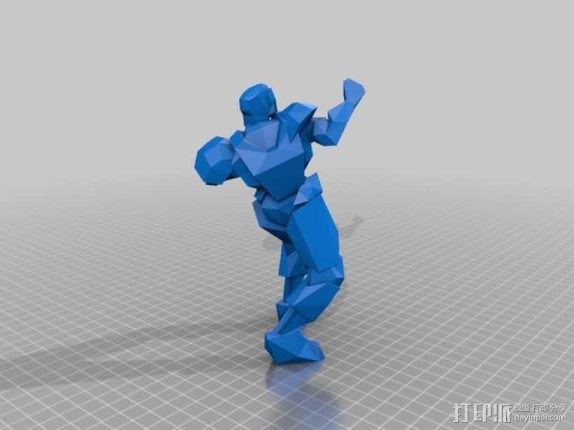 竞技场雕刻摆件 3D模型  图1