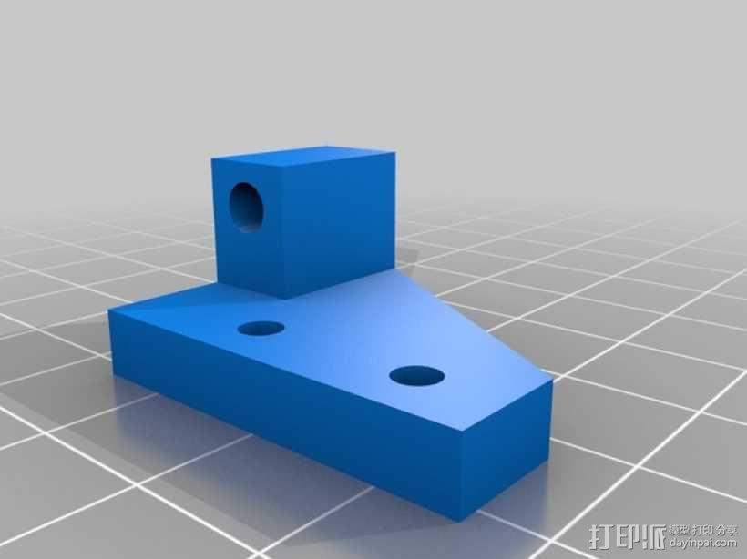 扩展支架 3D模型  图1