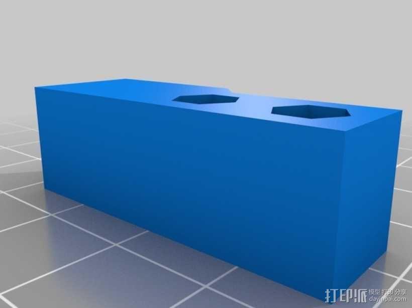 挤出器M2 3D模型  图4