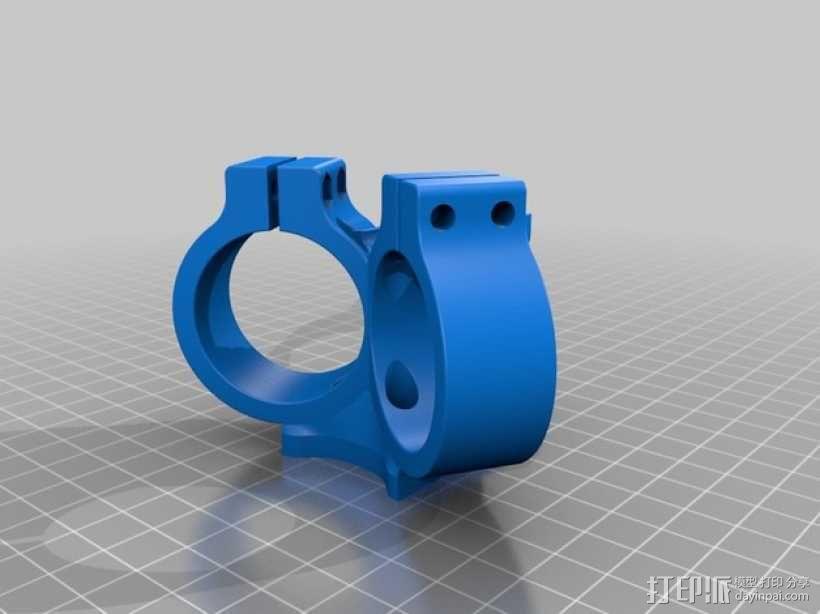 挤出器M2 3D模型  图3