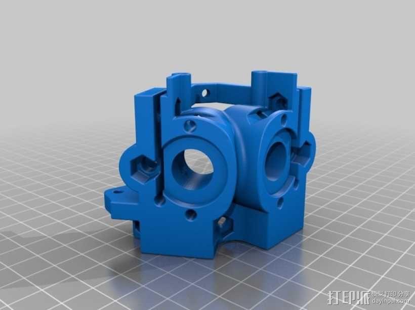 挤出器M2 3D模型  图7
