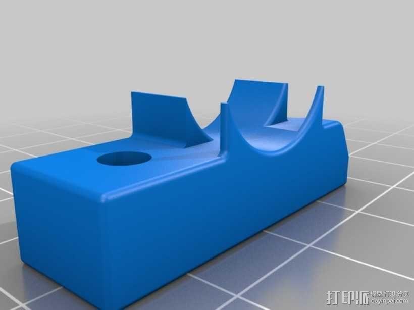 挤出器M2 3D模型  图6