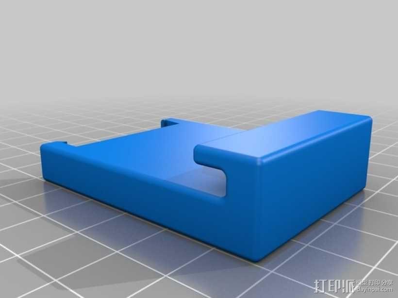 挤出器M2 3D模型  图8
