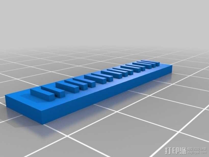 钢琴摆件 3D模型  图2