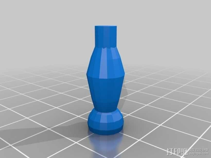 钢琴摆件 3D模型  图4