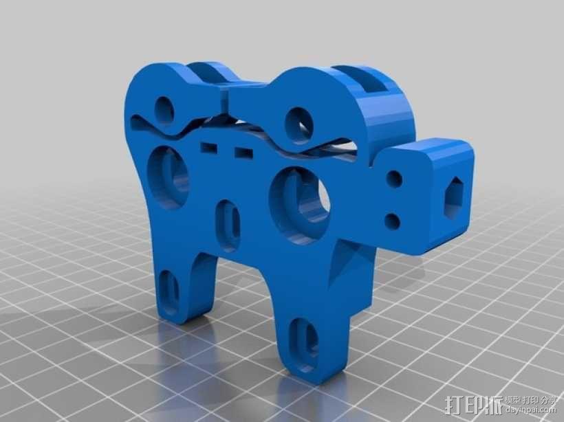 双挤出器 3D模型  图8
