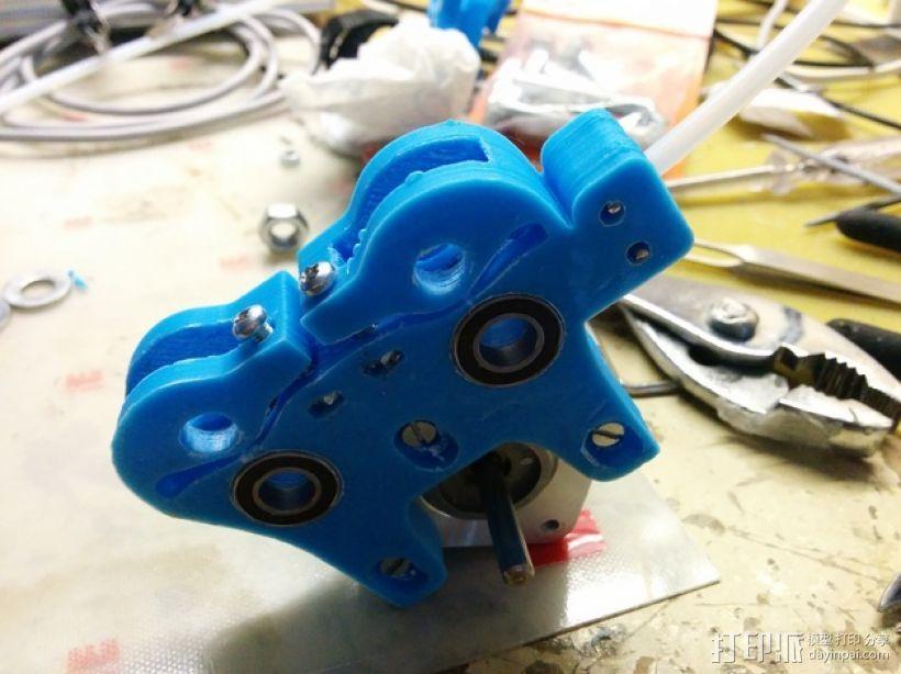 双挤出器 3D模型  图6
