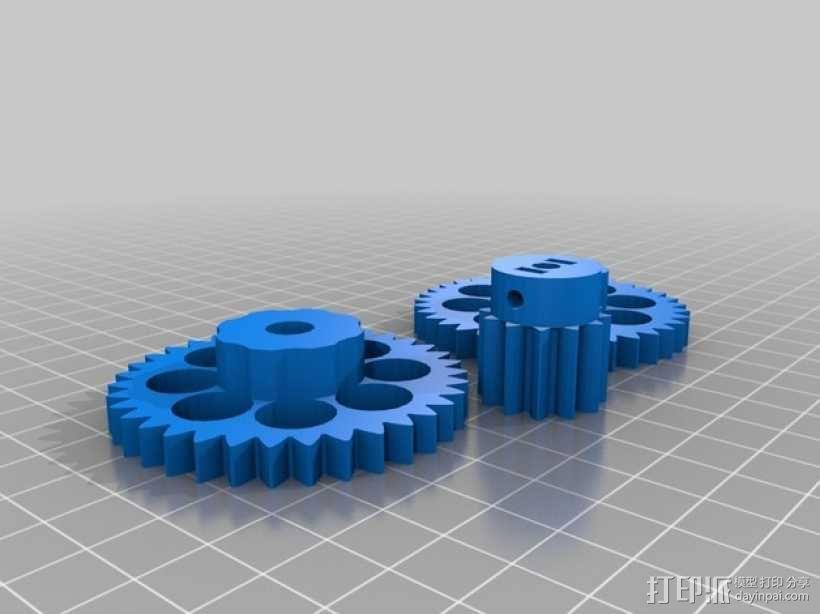 双挤出器 3D模型  图10