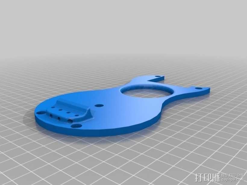 尤克里里 3D模型  图5