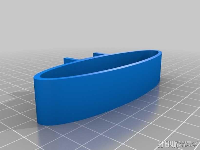 缓冲器 3D模型  图3