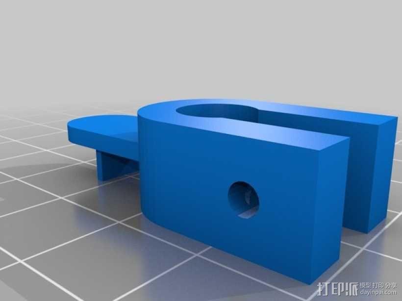 Prusa i3适配器 3D模型  图1