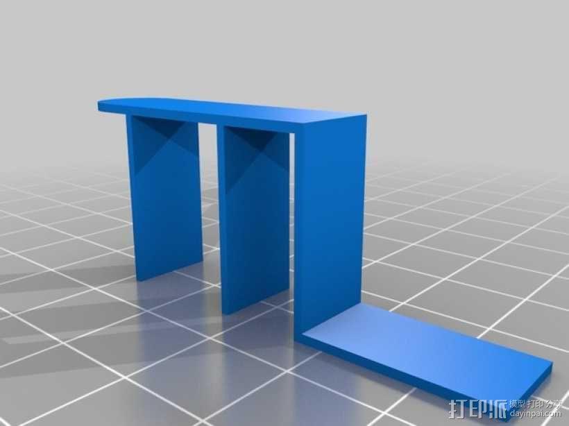 Prusa i3适配器 3D模型  图2