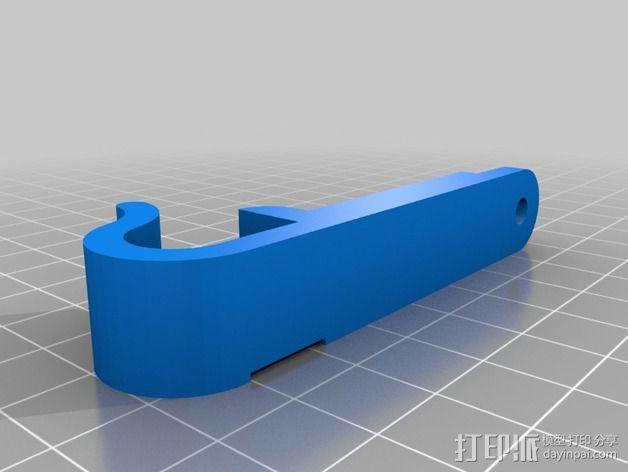 风扇挂载 3D模型  图3