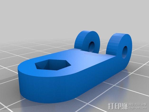 风扇挂载 3D模型  图4