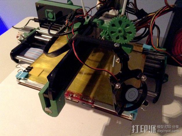 风扇挂载 3D模型  图8