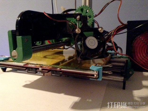 风扇挂载 3D模型  图11