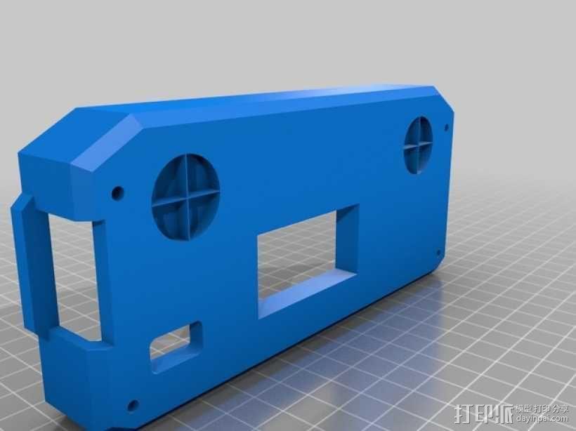 坡道液晶盒子 3D模型  图2