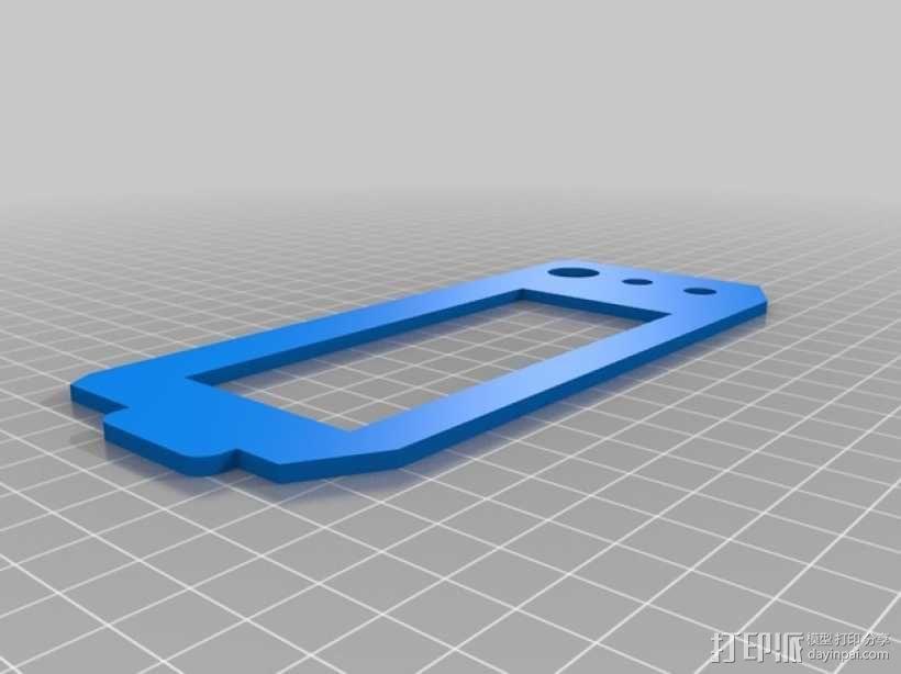 坡道液晶盒子 3D模型  图3