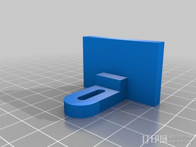 Z轴适配器 3D模型  图4