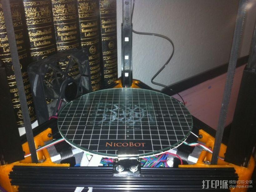 迷你LED适配器 3D模型  图3