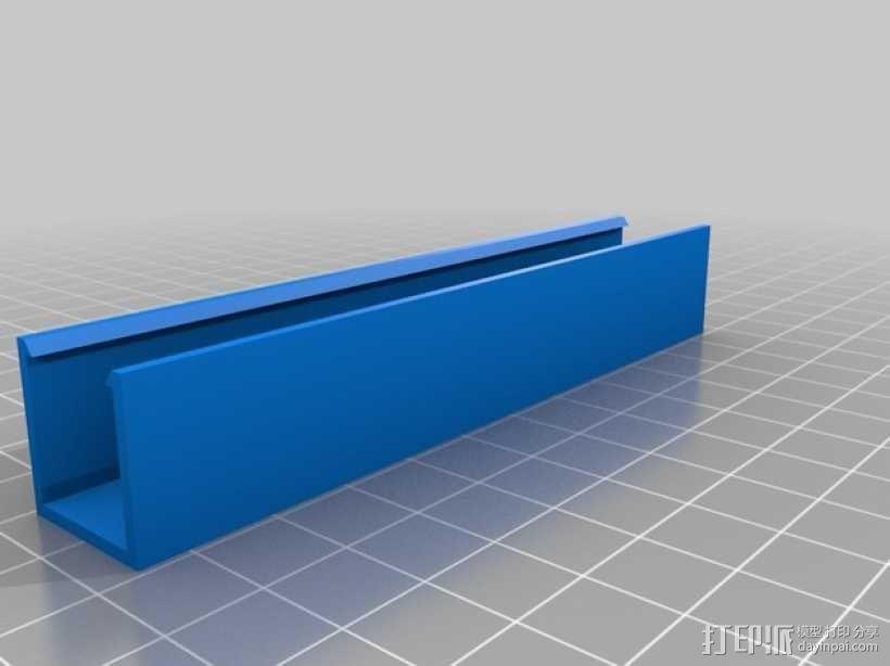 迷你LED适配器 3D模型  图2