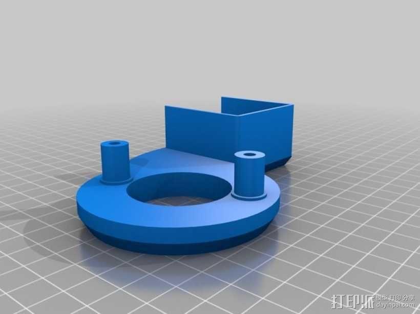 风机管 3D模型  图1