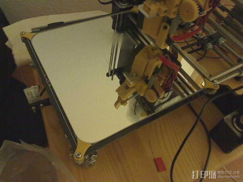 加热板 3D模型  图2