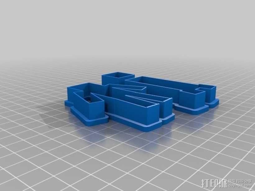 模型 3D模型  图1