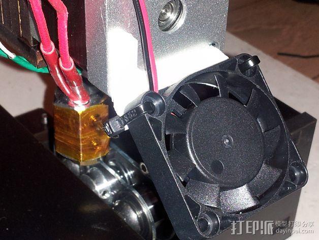 风扇托 3D模型  图4