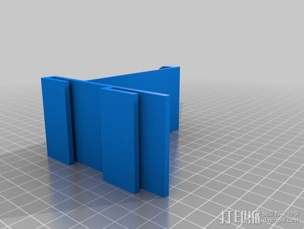 线轴固定器 3D模型  图3