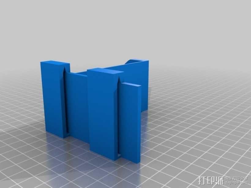 线轴固定器 3D模型  图1