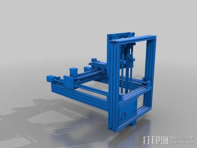 打印机 3D模型  图2