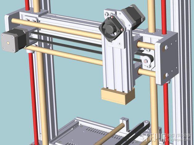 打印机 3D模型  图4