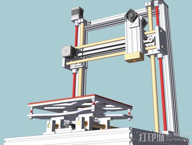 打印机 3D模型  图3