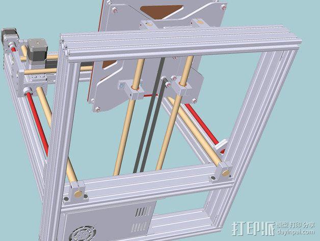 打印机 3D模型  图8